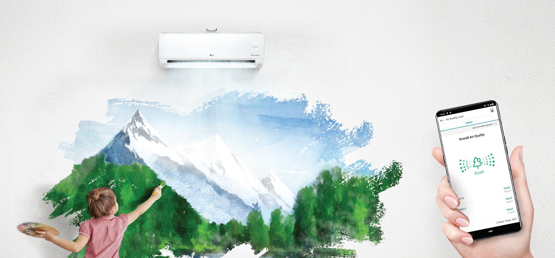 LG DUALCOOL Air Purification